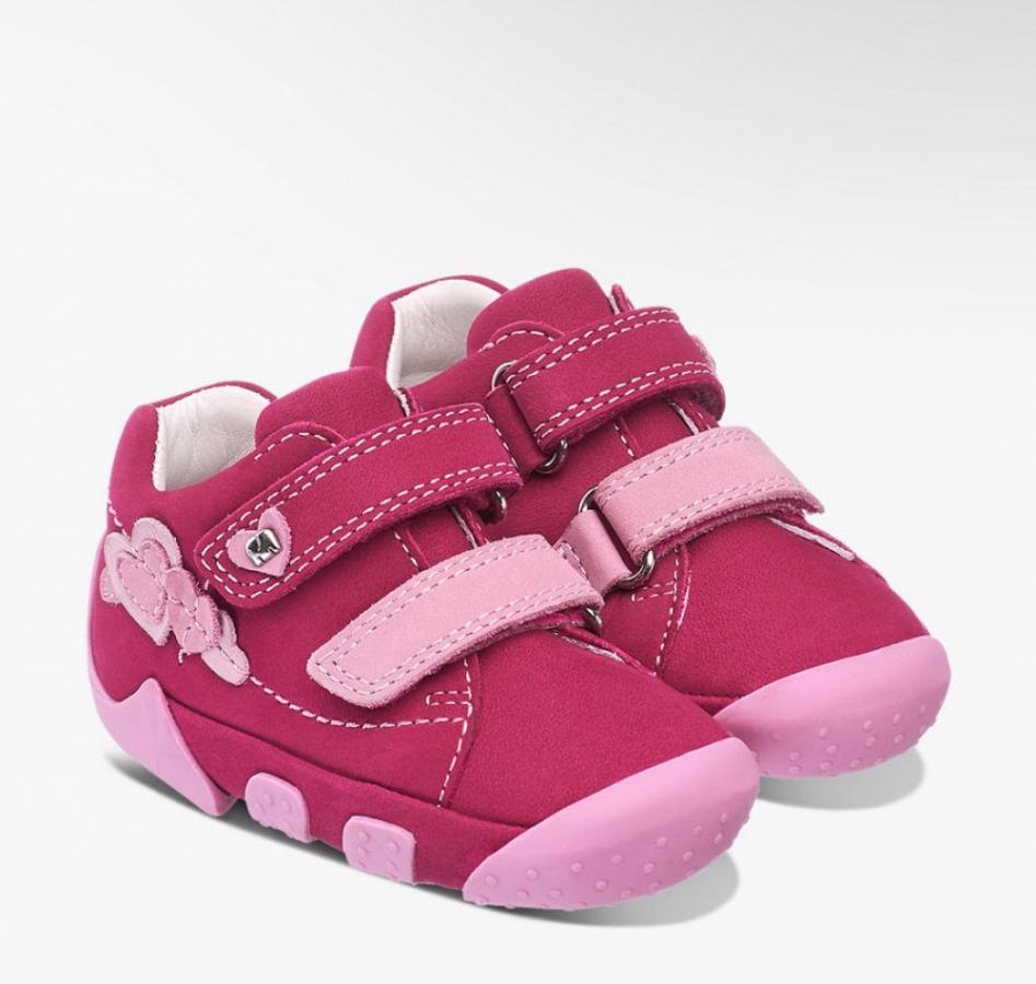 Купить онлайн Удобные ботинки пинетки для начальной ходьбы( Elefanten free)