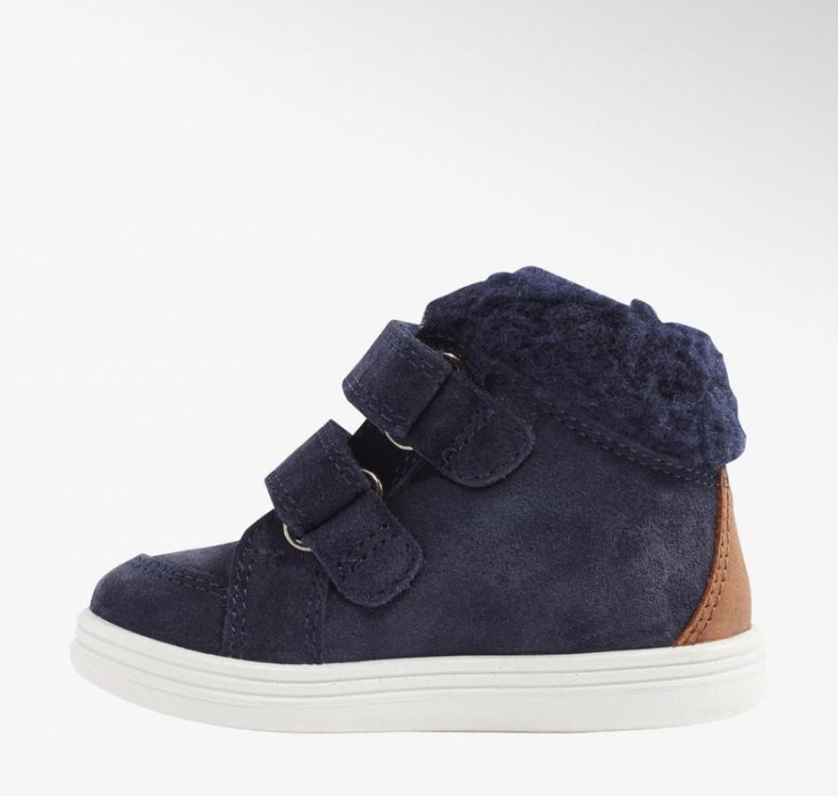 Купить онлайн Утеплённые кожаные ботинки