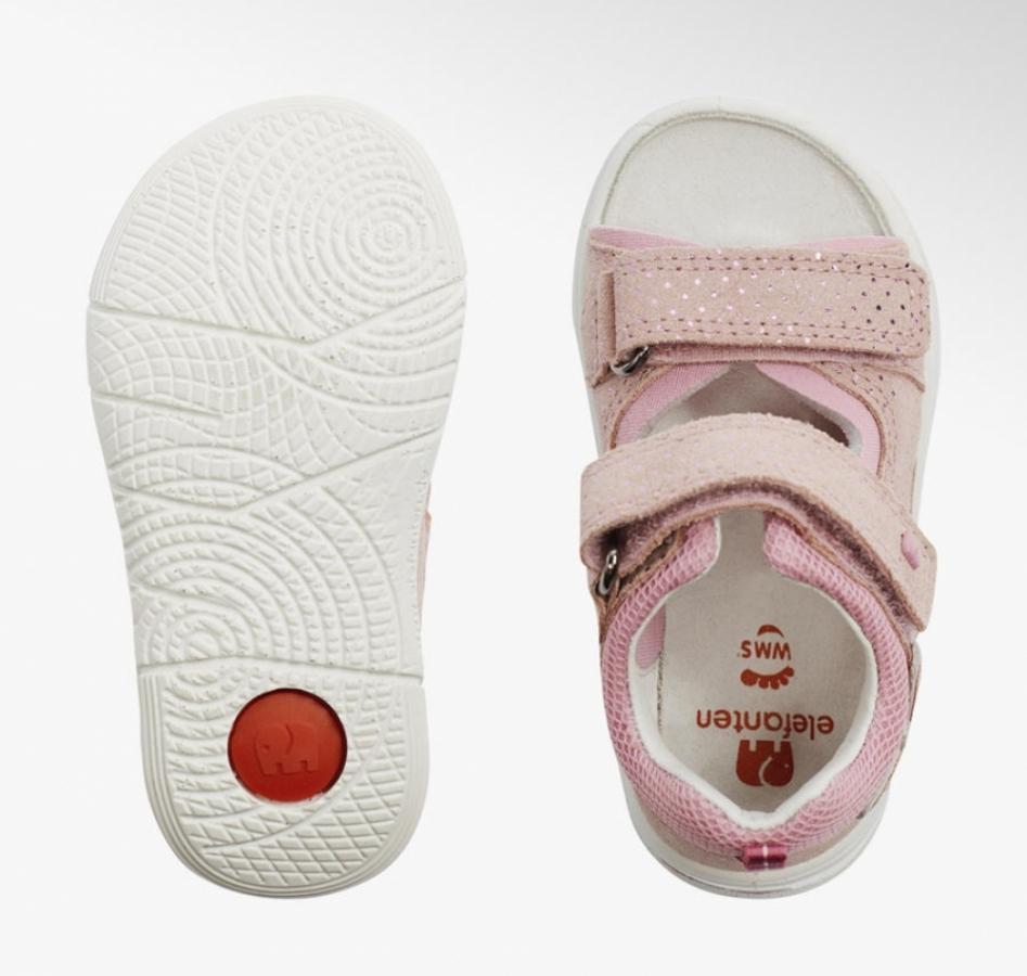 Купить онлайн Босоножки кожаные для малышки