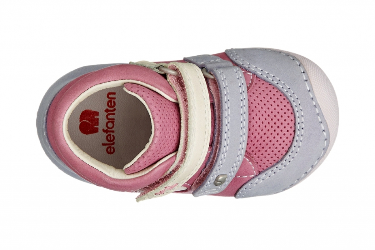 Купить онлайн Пинетки ботинки кожаные анатомические ( El chico 1)