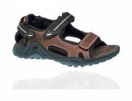 Elefanten кожаные сандали на липучках
