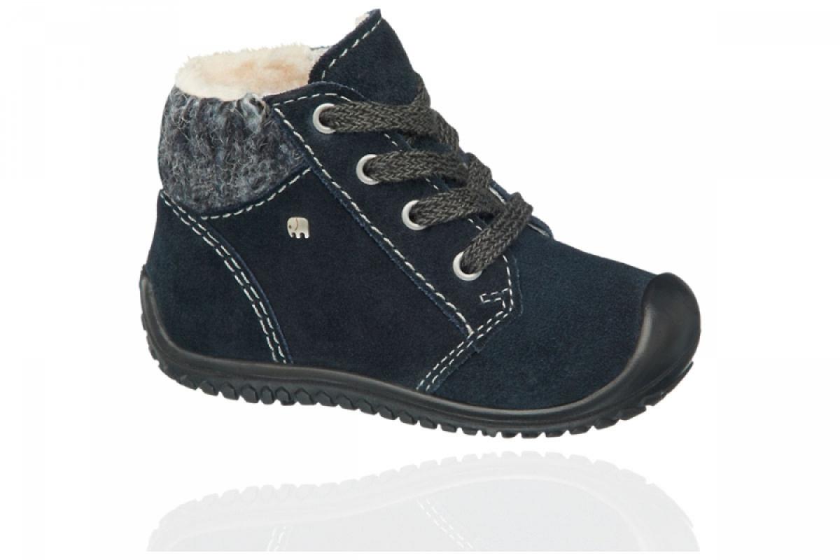 Купить онлайн Elefanten теплые кожаные ботиночки (El chico 1)