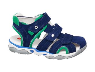 Кожаные сандали для мальчика