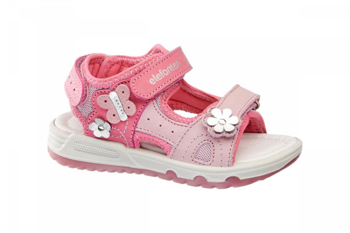 Купить онлайн Модные босоножки для девочки