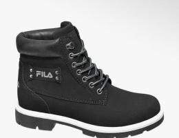 Утепленные ботинки на шнуровке