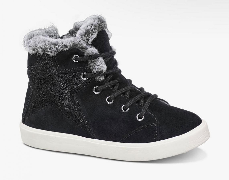 Купить онлайн Теплые и стильные ботинки, сбоку на молнии