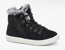Теплые и стильные ботинки, сбоку на молнии