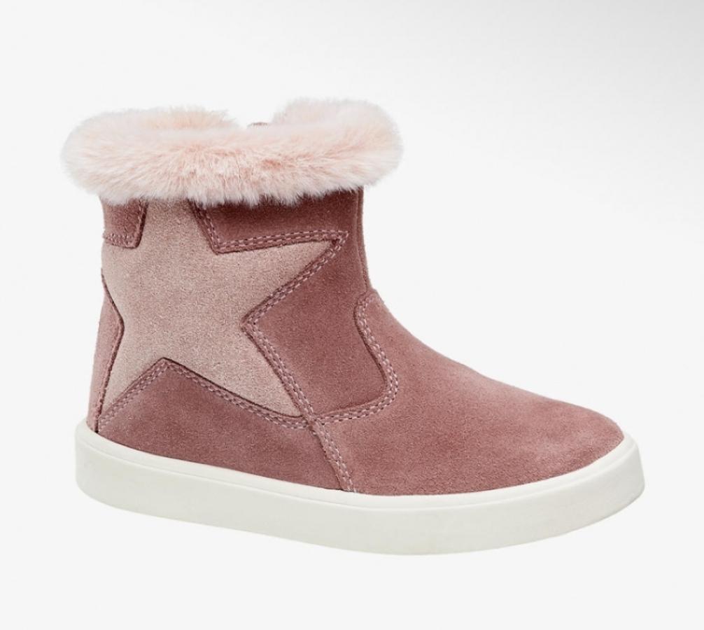 Купить онлайн Теплые демисезонные ботиночки, сбоку на молнии