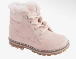 Утепленные димисезонные ботинки для девочки