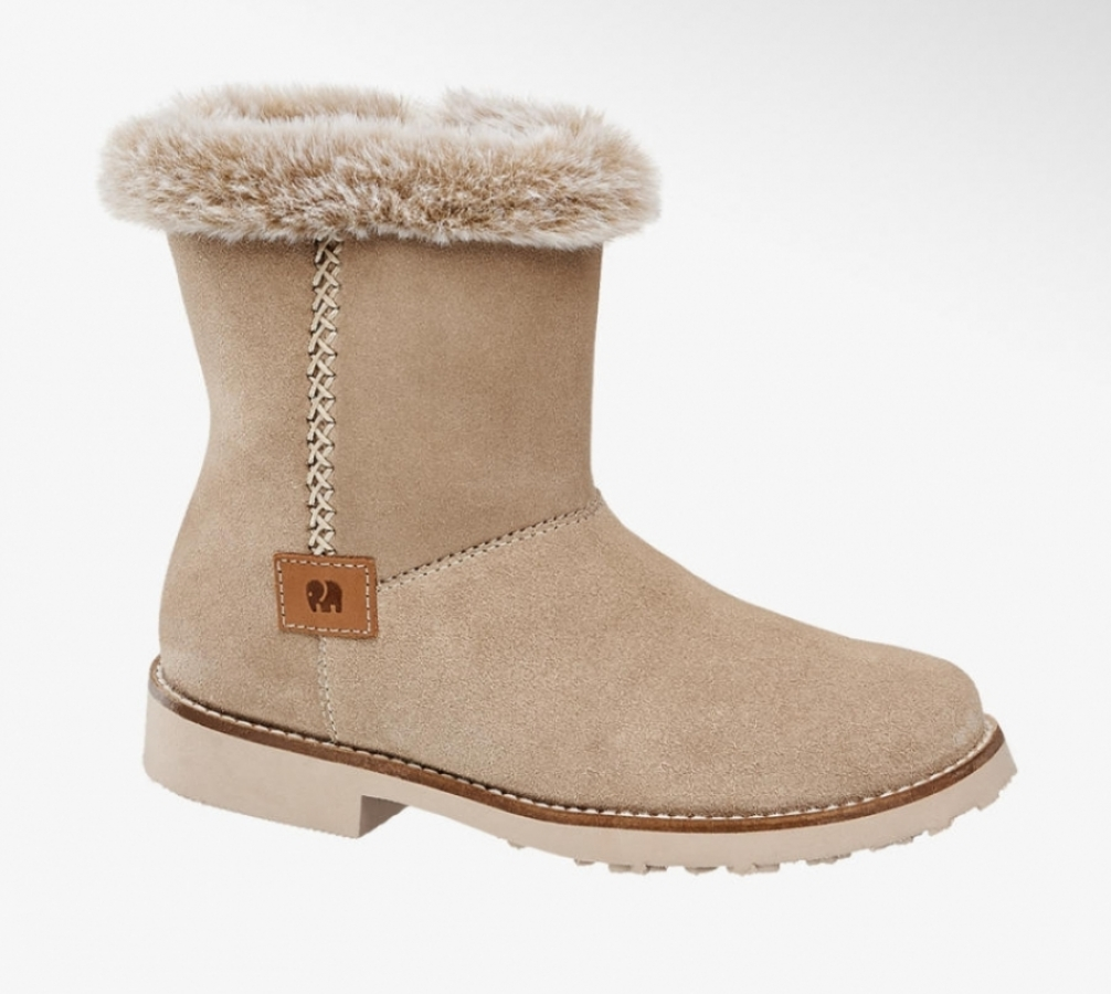 Купить онлайн Теплые кожаные ботинки полусапоги для девочки