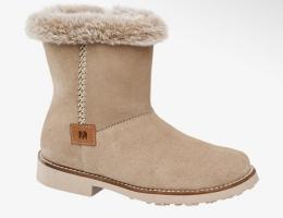 Теплые кожаные ботинки полусапоги для девочки
