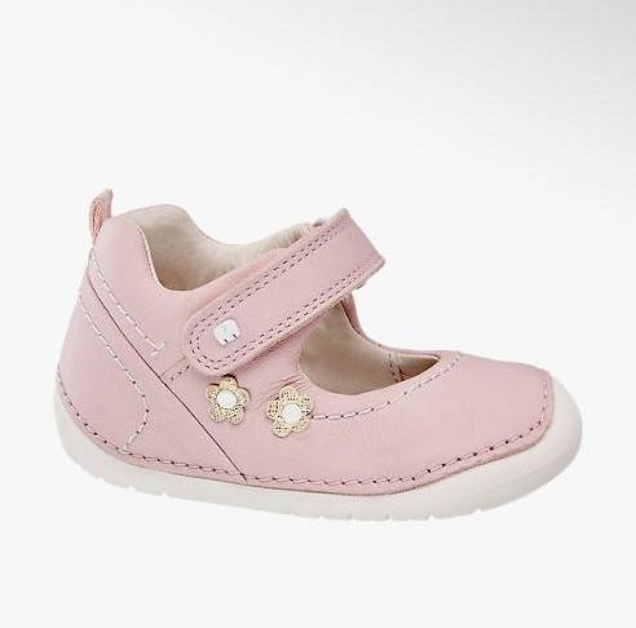 Купить онлайн Кожаные пинетки туфельки для первых шагов (El chico1)
