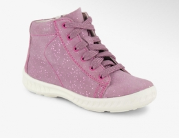 Кожаные демисезонные ботинки для девочки